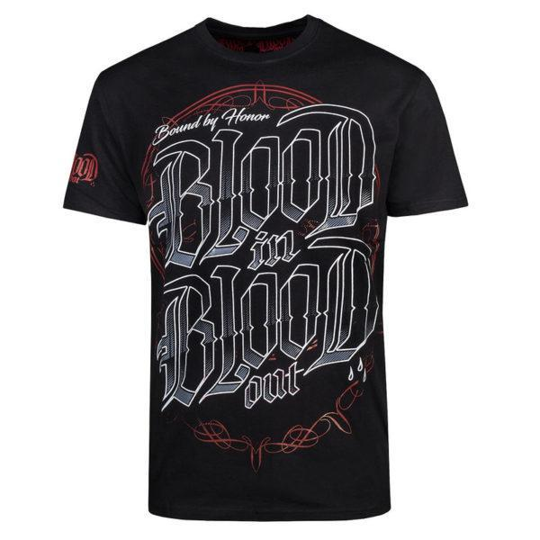 футболка blood in blood emblema купить