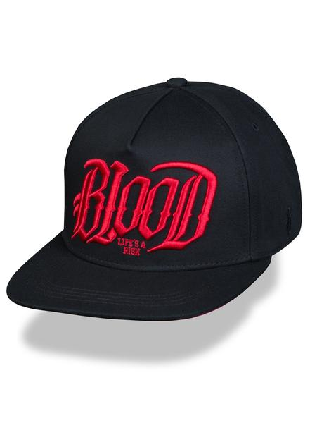 Бейсболка  Blood Life´s a Risk Snapback